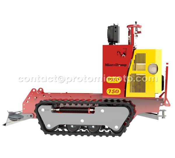 MicroDump'750 Pro 18ch à 23ch 82cm