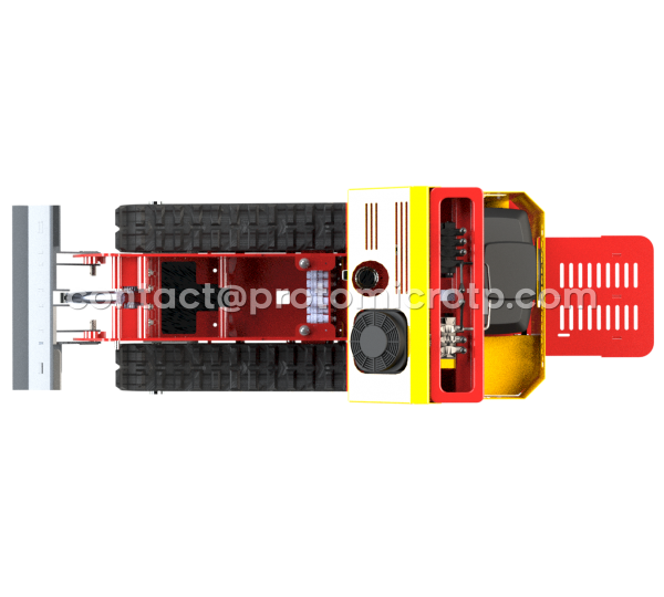 MicroDump'750 Pro 18ch à 23ch version Etroite 72cm